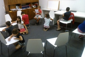 Taller de Filosofía para niños en Grupo Eurotax