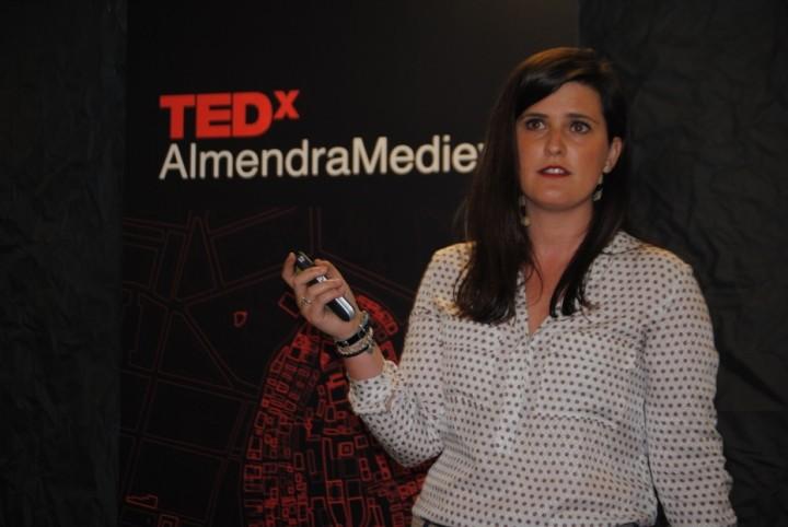 Maitane Valdecantos participó en el TEDx Almendra Medieval